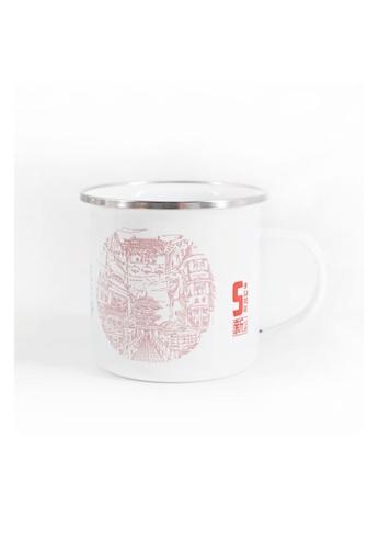 Klosh Enamel Cup - Singapore Sketches 3A45BHL033624DGS_1