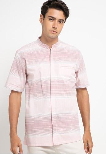 Introspect clothing pink Kemeja Koko F19FDAA6DB0D92GS_1