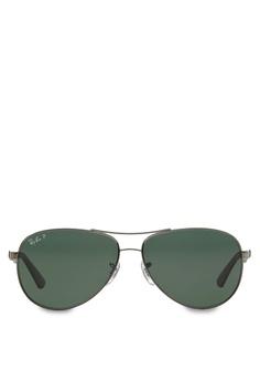 69804c26674 Ray-Ban grey RB8313 Polarized Sunglasses RA370GL78SGNSG 1