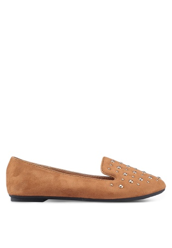 36b9313f01c Shop Noveni Studded Loafers Online on ZALORA Philippines