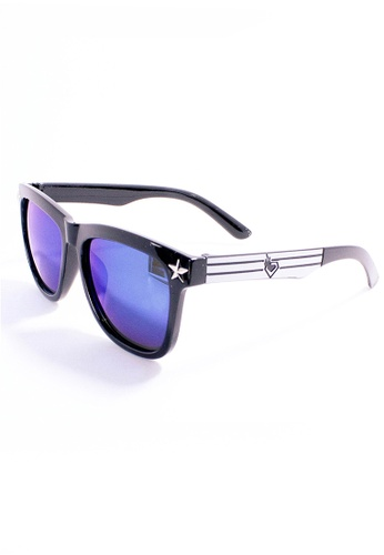 Amora Scarlett Star Blue Oversized Blue-Purple Transition with Silver Edge AM058AC43RTCMY_1
