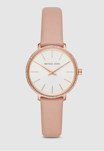 the best attitude 9f5a6 55d97 MICHAEL KORS pink Pyper Watch MK2803 8DFE1ACA8D7777GS 1