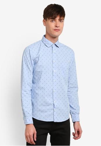 Boss Orange blue Epop Shirt BO434AA0S35UMY_1