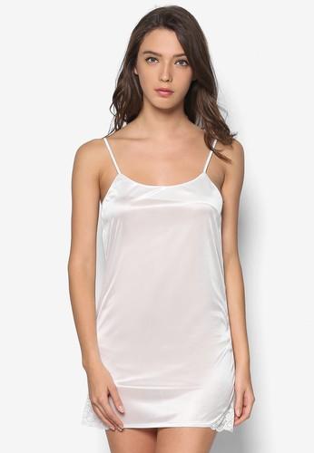 素色細肩帶睡esprit 高雄裙, 服飾, 服飾