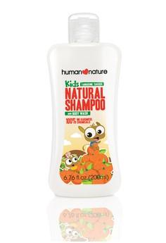 Kids Natural Shampoo & Body Wash In Tangerine Tarsier