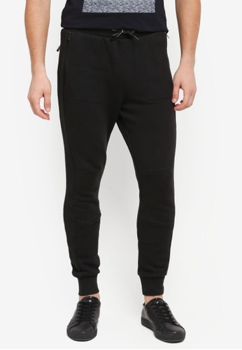 Calvin Klein 黑色 Harpo 3 Slim Fit Jogger Pants - Calvin Klein Jeans 69255AA277E0A1GS_1