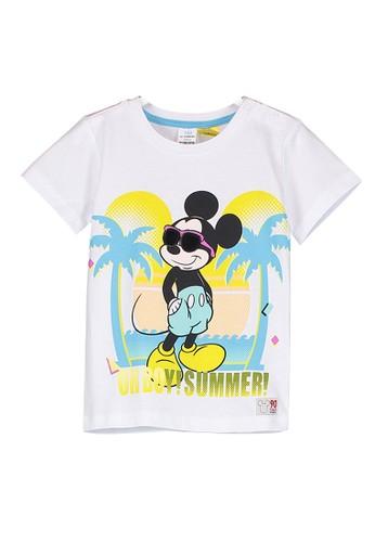 LC Waikiki white Baby Boy Mickey Mouse T-shirt 1C63EKA79D8EBBGS_1
