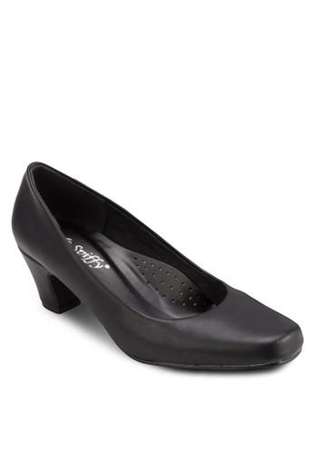 經典方頭高跟鞋, esprit outlet 台灣女鞋, 鞋
