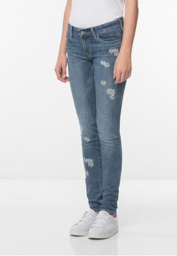 Levi's blue Levi's® 711 Skinny Jeans 253EAAAF37BB42GS_1