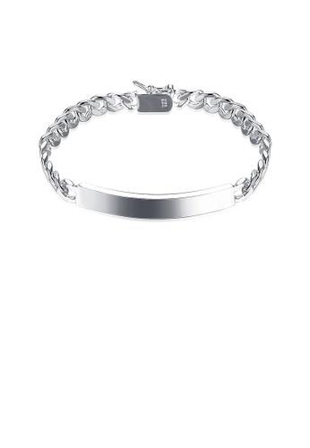 Glamorousky silver Fashion Geometric Bracelet 4EEB3ACF7064D3GS_1