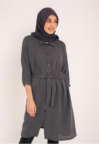 MFMW grey MFMW Cassandra Tunik Abu-abu A06E2AA51779EDGS_1