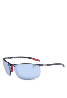 41cfac3c8488b Ray-Ban black Ray-Ban Scuderia Ferrari Collection RB8305M Sunglasses  61F33GLB115274GS 1