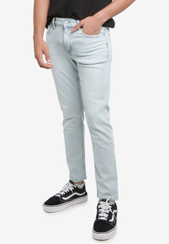 H&M blue Slim Jeans 52E52AA485EBA3GS_1