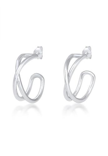 ELLI GERMANY silver Elli Germany Creol Earrings in 925 Sterling Silver EB137ACD91EE50GS_1