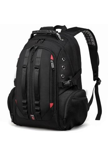 Golden Wolf black Bange Dyno Laptop Backpack 2AA3DACF942ED0GS_1