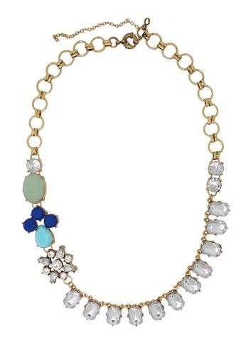 Jaysa Collection gold Avant Garde Crystal Party Necklace JA875AC0GYCDSG_1