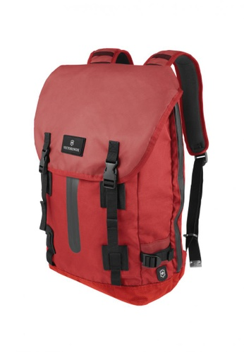 290c5199d4 Victorinox red Victorinox Flapover Drawstring Laptop Backpack  VI600AC0SCFEMY 1