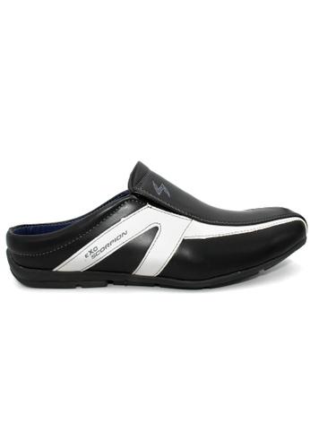 midzone black EXO SCORPION Casual Loafer B1B64SH0E992EAGS_1