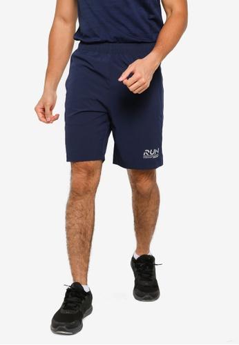 361° blue Running Series Sports Knee Shorts B8C5FAAB0D4C5AGS_1