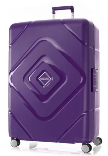 American Tourister purple American Tourister Trigard Spinner 79/29 TSA B64BFACE40C8FCGS_1