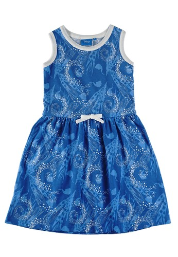 KIDS ICON blue KIDS ICON - Overall Anak Perempuan 4-12 tahun DISNEY Frozen with Cut and Sew detail - FZ500500200 B716AKA810ED26GS_1