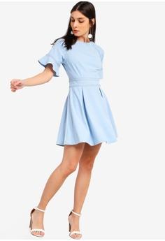 f2c718f318 10% OFF ZALORA Raglan Sleeves Dress With Trimming RM 105.00 NOW RM 94.90 Sizes  XS S M L XL