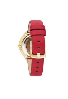 6ab4c27bb 17% OFF FURLA Metropolis Quartz Watch R4251102521 Red Leather Strap S$  297.00 NOW S$ 247.00 Sizes One Size