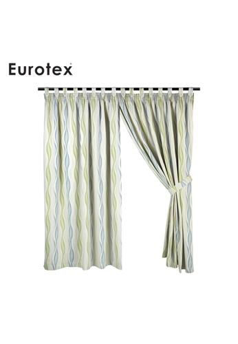 Eurotex Eurotex, Curtain, Block 90% Sunlight, 3 Ways Hanging Options (1 Piece) 8195 - Brown AF479HL59BD0F6GS_1