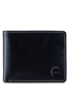 3a0152c34dca Timberland black Brookdale Tree Emboss Passcase Wallet FC7F3AC5BE956EGS 1