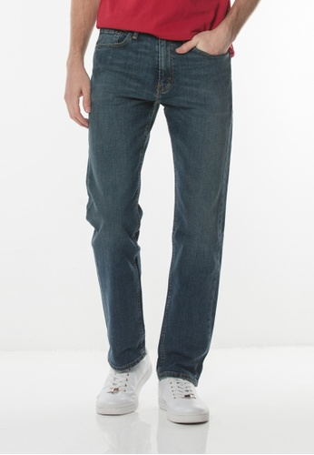 Levi's blue 505™ Regular Fit Jeans EA25EAA1B3B765GS_1