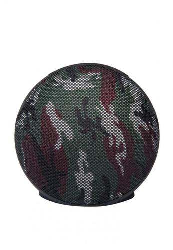 JC-210 Circular Fabric Art Cloth Portable Bluetooth Speaker