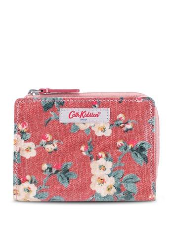 Cath Kidston pink Small Mayfield Blossom Slim Pocket Purse 0C761AC813A4EEGS_1