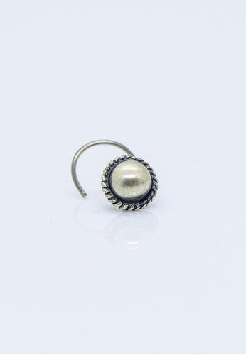 Buy Aadyaa Singapore Nose Pin Sphere Pierced Online On Zalora