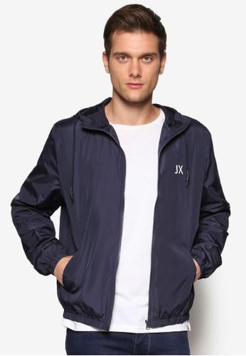 JX 抽繩連帽外套, zalora 心得服飾, 輕薄外套