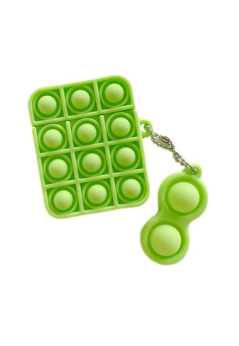 Kings Collection green Pop It Fidget AirPods Case (KCAC2182) 3E2D4ACD01A86AGS_1