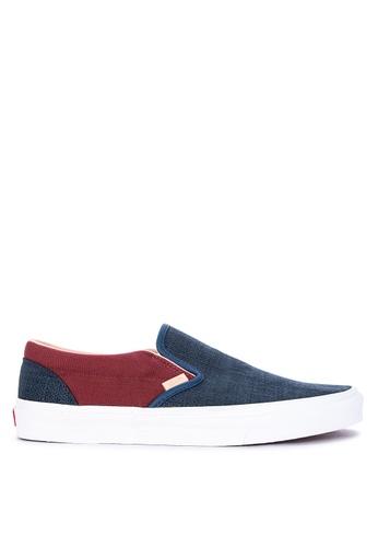 3af05999efe Shop VANS Textured Suede Classic Slip-On Sneakers Online on ZALORA  Philippines