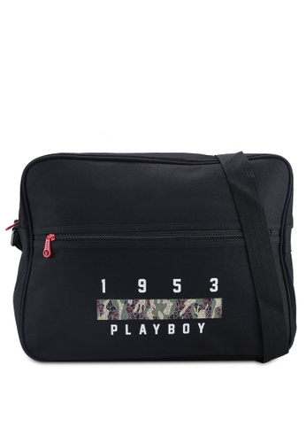 Playboy blue Playboy Sling Bag 44C5FAC8866065GS_1