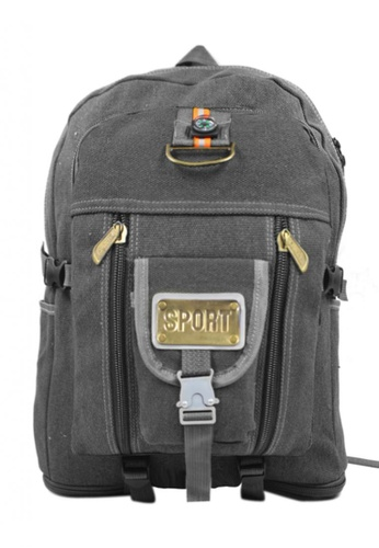 Urban Hikers black Levy Outdoor Sport Multi-Purpose Backpack UR461AC24VXBPH_1