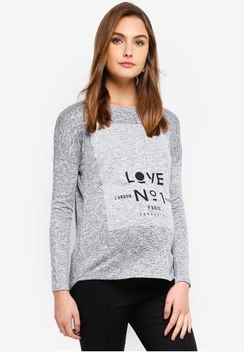 f209fa01788402 Shop Seraphine Love No1 Maternity Graphic T-Shirt Online on ZALORA ...