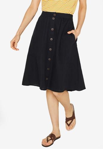 33752a3529 Buy ESPRIT Button Placket A-Line Skirt | ZALORA HK