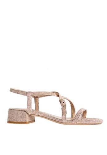 Twenty Eight Shoes beige Strap Heel Sandal 3376-13 82BDCSH7D56DDEGS_1