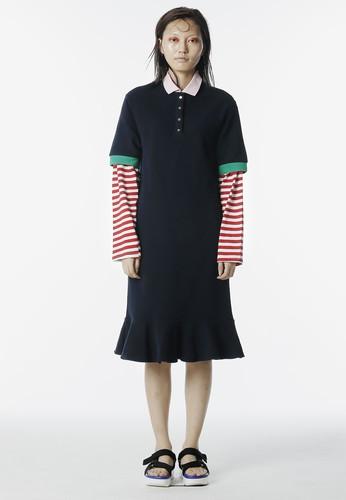 及膝POLO 連身裙esprit 衣服, 服飾, 洋裝