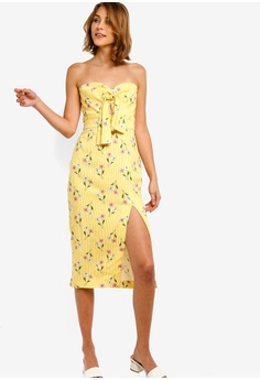 b8ecf896c9e Finders Keepers yellow Limoncello Dress 4F07EAA5CA5F1EGS 1