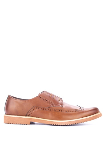 Preview brown Zampher Formal Shoes 1D413SH4D5D01DGS_1