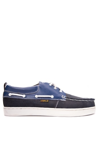 Caterpillar blue Boat Shoes CA367SH11KXSPH_1