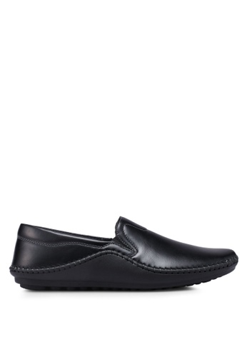Bata black Slide-On Loafers EE572SH3ED32FDGS_1