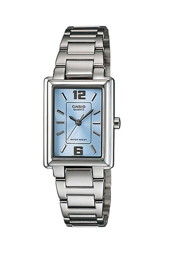 Casio silver Casio Women's Analog LTP-1238D-2ADF Stainless Steel Band Casual Watch 2A47BACBF94D74GS_1