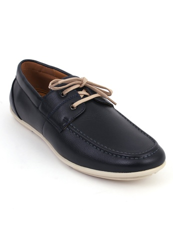 7soles navy Marlow Mens Casual Shoes 22EBASH3D46707GS_1