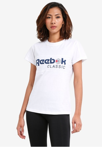 Reebok white Foundation Classic Tee RE691AA0SVYPMY_1