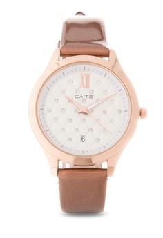 Leather Analog Watch M-171